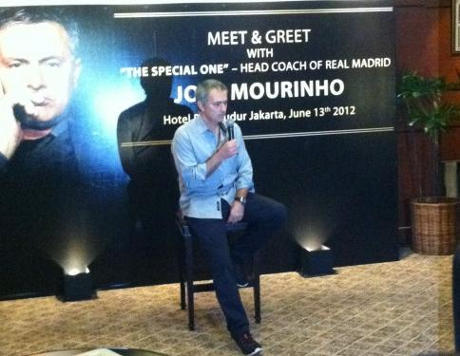 Mourinho in Indonesia. Courtesy: http://detik.com/ IMG